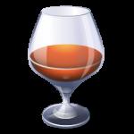 الكحول براندي رمز