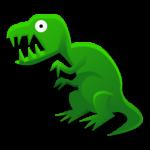الديناصور ريكس رمز