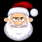 غاضب بابا نويل أيقونة