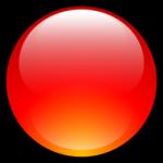 أكوا الكرة الأحمر أيقونة