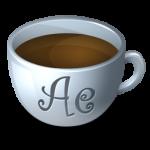 القهوة رجعية أيقونة