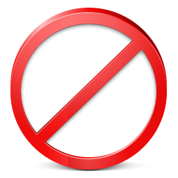 Restricted icon
