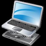 كمبيوتر محمول برودة أيقونة