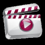 أيقونة الفيديو