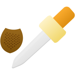 3d material eyedropper tool icon