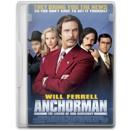 Anchorman The Legend of Ron Burgundy icon