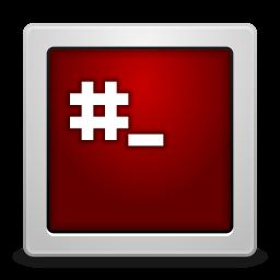 Apps gksu root terminal icon