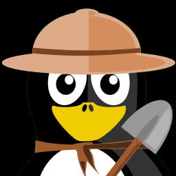 Archaeologist Tux icon