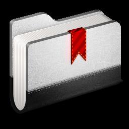 Bookmark Metal Folder icon