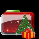 Christmas Folder Tree Gift icon