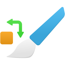 Color replacement tool icon