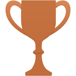 Cup bronze icon