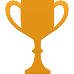 Cup gold icon