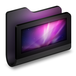 Desktop Black Folder icon