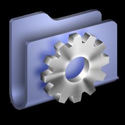 Developer Blue Folder icon