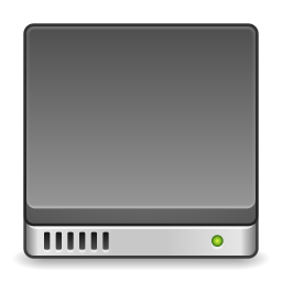 Devices drive harddisk system icon