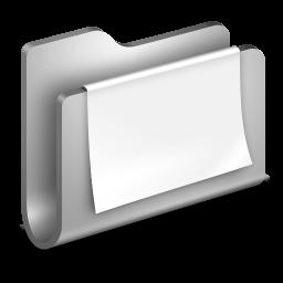 Documents Metal Folder icon