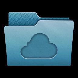 Folder Cloud icon
