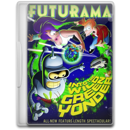 Futurama Into the Wild Green Yonder icon