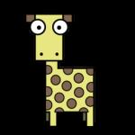 الزرافة رمز
