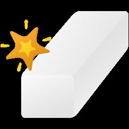 Magic eraser tool icon