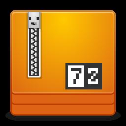 Mimes application x 7zip icon
