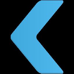 Navigate left icon