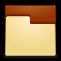 Places folder empty icon