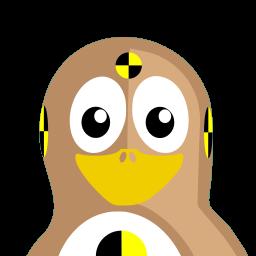 Test Dummy Tux icon