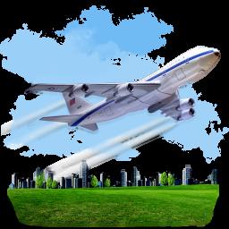 Travel Airplane icon
