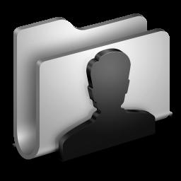 User Metal Folder icon