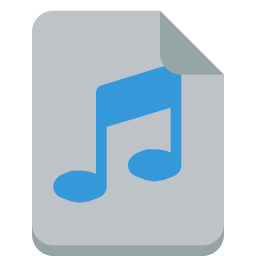 file sound icon