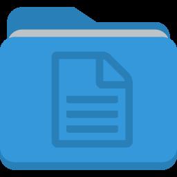 folder document icon