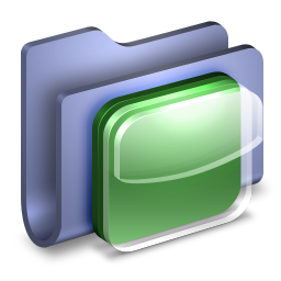 iOS Icons Blue Folder icon