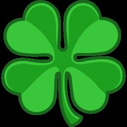 shamrock lucky icon