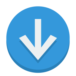 sign down icon