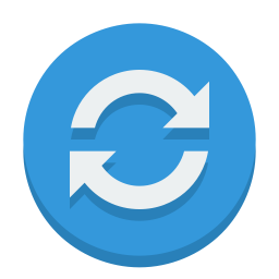 sign sync icon