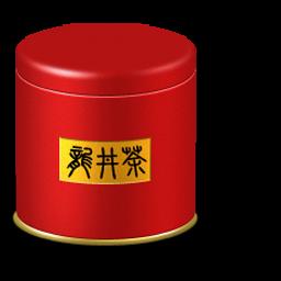 tea caddy box icon