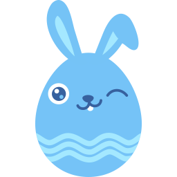 blue wink icon