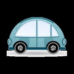 car blue icon