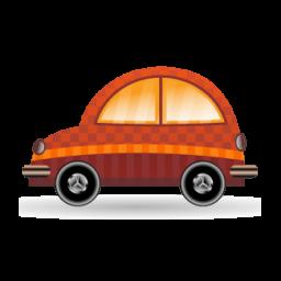car orange icon