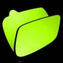 folder lime icon