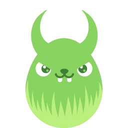 green demon icon