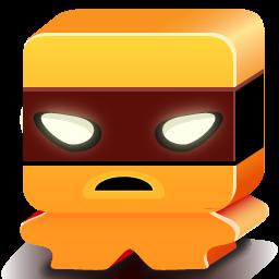 monster orange icon