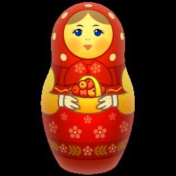 red matreshka icon