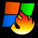 windows burning icon