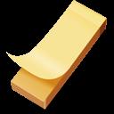 yellow sticker icon