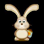بيضة عيد الفصح الأرنب الأيقونات