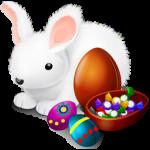 رمز الأرنب والبيض