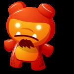 الأحمر رمز لعبة